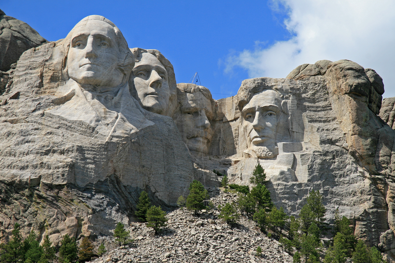 American History, Alive in Stone...