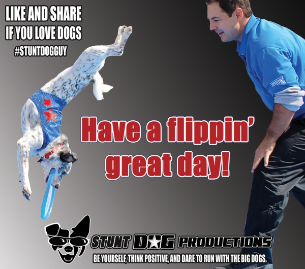 Have a flippin' great day!